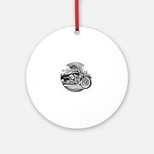 Cute Harleydavidson Round Ornament