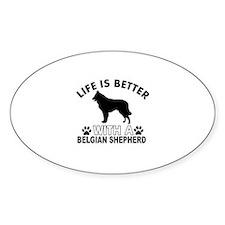 Belgian Shepherd vector designs Decal