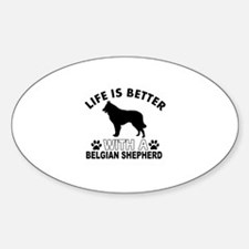 Belgian Shepherd vector designs Decal
