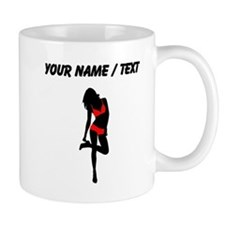 Red Bikini Pin Up Girl Small Mug