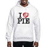 I Heart Pizza Pie Hoodie