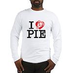 I Heart Pizza Pie Long Sleeve T-Shirt