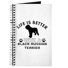 Black Russian Terrier vector designs Journal