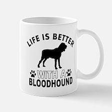 Bloodhound vector designs Mug
