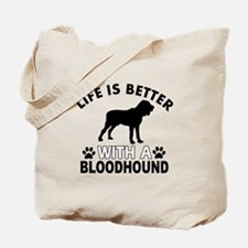 Bloodhound vector designs Tote Bag