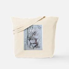 White Lion photo Tote Bag