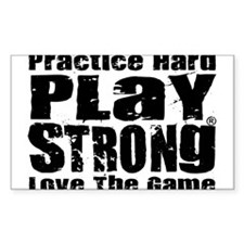 Play Strong Workout Decal