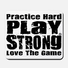 Play Strong Workout Mousepad
