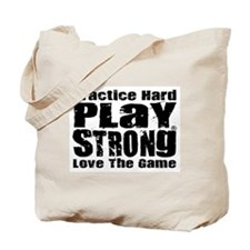 Play Strong Workout Tote Bag