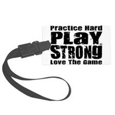 Play Strong Workout Luggage Tag