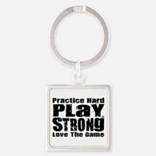 Play Strong Workout Keychains