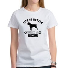 Boxer vector designs Tee