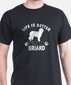 Briard vector designs T-Shirt