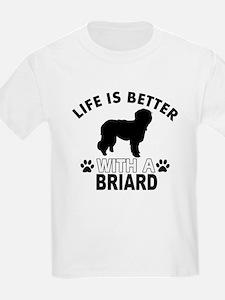 Briard vector designs T-Shirt