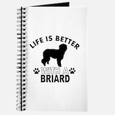 Briard vector designs Journal