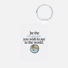 Be the change Keychains