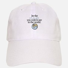Be the change Baseball Baseball Cap
