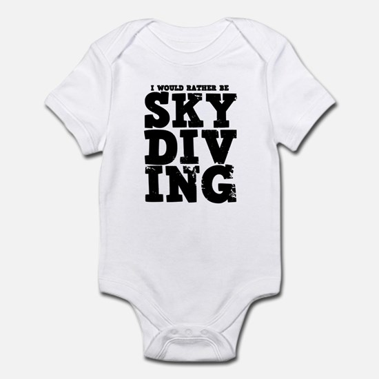 'Rather Be Skydiving' Infant Bodysuit