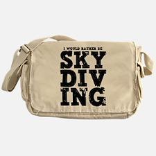 'Rather Be Skydiving' Messenger Bag