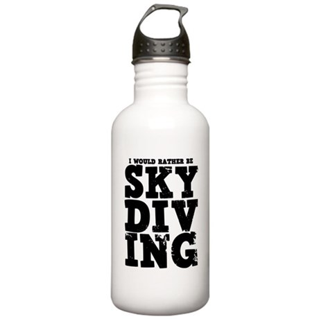 'Rather Be Skydiving' Stainless Water Bottle 1.0L