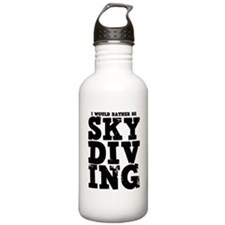 'Rather Be Skydiving' Water Bottle