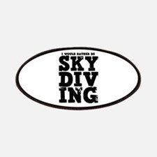 'Rather Be Skydiving' Patches