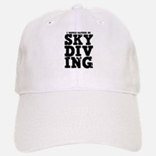 'Rather Be Skydiving' Baseball Baseball Cap