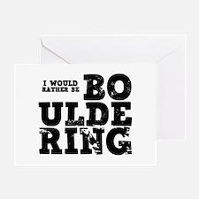 'Bouldering' Greeting Card