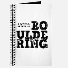 'Bouldering' Journal