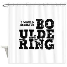 'Bouldering' Shower Curtain
