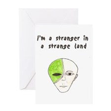 Stranger Greeting Card