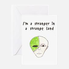 Stranger Greeting Card
