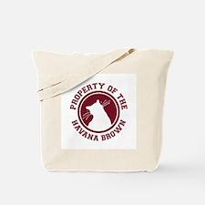 Havana Brown Tote Bag