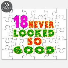 18 Birthday Designs Puzzle