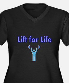 Lift for Life Plus Size T-Shirt