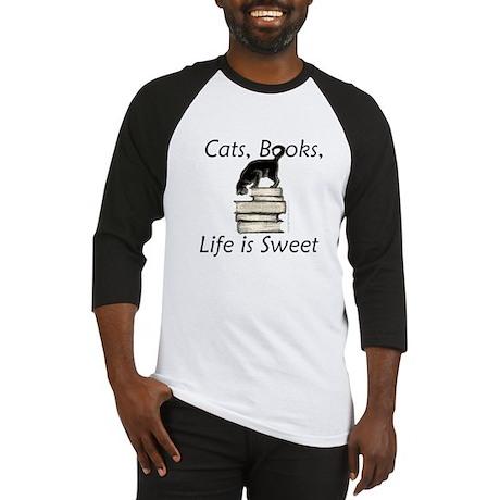 3-cat_life_sweet_large Baseball Jersey