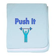Push It baby blanket
