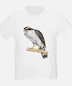 Goshawk (Front only) Kids T-Shirt