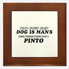 Pinto designs Framed Tile