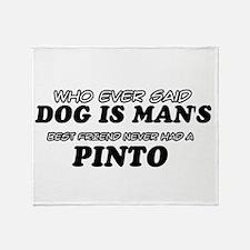 Pinto designs Throw Blanket
