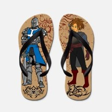 Cartoon Anime Flip Flops