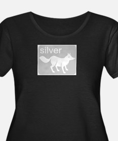 Silver Fox Plus Size T-Shirt