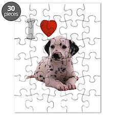 I Love Dalmatian Puzzle
