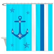 Anchor Away Shower Curtain