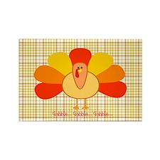Thanksgiving Turkey Rectangle Magnet