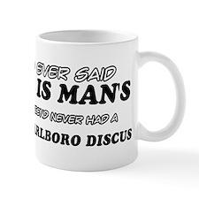 Red Marlboro Discus designs Mug