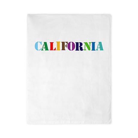 CALIFORNIA STATE TWOSTARS DESIGN. MULTI. Twin Duve