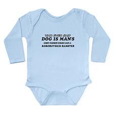 Roborovskis Hamster designs Long Sleeve Infant Bod