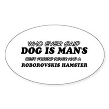Roborovskis Hamster designs Decal