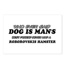 Roborovskis Hamster designs Postcards (Package of